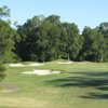 A view from a fairway at The Bluffs on Thompson Creek