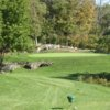 A view of the 4th green at Guilford Lakes Golf Course