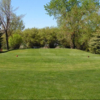 A view of a tee at Bow Island Golf Course