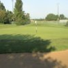 A view of hole #9 at Spencer T. Olin Golf Course