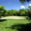 A view of a hole at Libertyville Golf Course