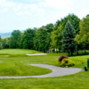 A view of tee #3 at Seven Springs Mountain Resort