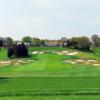 A view from a tee at Bethpage State Park Golf Course