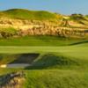 A view of a green at Bayonne Golf Club