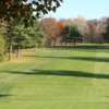 A view of a fairway at Green Brook Country Club
