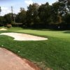 A view of the 8th green at Colonia Country Club