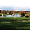 A fall view from Brooklake Country Club