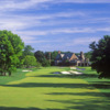 A view from a fairway at Winged Foot Golf Club