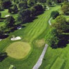Aerial view of the 10th hole at Cedarbrook Golf Club