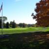 A view of a green at Apple Ridge Country Club