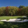 A view of a green at Glenwood Country Club