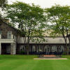 A view of the clubhouse at Century Country Club