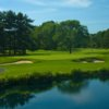 A view of the 5th hole at Pine Hollow Country Club