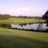 A view of the 10th green from fairway #11 at Eagle from Eglin AFB Golf Course