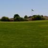 A view of a green at Hidden Falls Golf Club