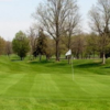 A view of a green at Studebaker Golf Course