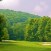 A view of hole #1 at Minerals Golf Club