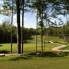 A view of a green with water coming into play at Diadema Golf Club