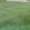 A view of the practice putting green at Fort Jackson Golf Club