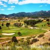 A view from tee #11 at Cheyenne Shadows Golf Course