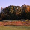 A view from a tee at Currie Golf Course