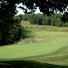 A view of a hole at Osage National Golf Club