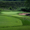 A view from a tee at Osage National Golf Club