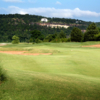 A view from a fairway at Osage National Golf Club