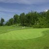A view of the 3rd green at Falls Golf and Country Club