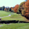 A view of the 1st fairway at Highland Park Golf Club