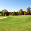 A view of a hole at Highland Park Golf Club