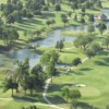 Aerial view from Tulsa Country Club