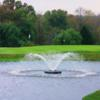 A view over a pond at Neshaminy Valley Golf Club