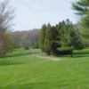 A view of a tee at Neshaminy Valley Golf Club
