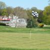 A view of a hole at Abington Country Club