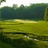 A view of the 8th green at Flynn from Huntingdon Valley Country Club
