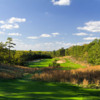 A view from a tee at Trump National Golf Club Philadelphia