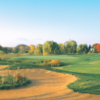 A view from the left side of a fairway at Talamore Country Club