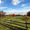 A fall view from DuPont Country Club