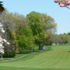 A spring view of a fairway at Doylestown Country Club