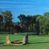 A view from a fairway at Fieldstone Golf Club