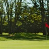 A view of a hole at Oakbrook Golf Club