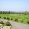 A view from the clubhouse at Tennanah Lake Golf & Tennis Club