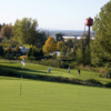 A view of a hole from Pub Course at McMenamins Edgefield