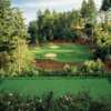 A view from tee #12 at Oregon Golf Club