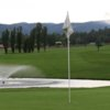 A view of the 9th hole at Cree Meadows Country Club