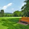 A sunny day view from Coatesville Country Club