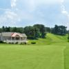 A view of a hole at Coatesville Country Club