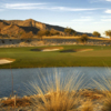 A view of the 18th green from #10 tee box at Founders Course at Verrado Golf Club.