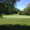 A view of the 12th hole at Flying Hills Golf Club
